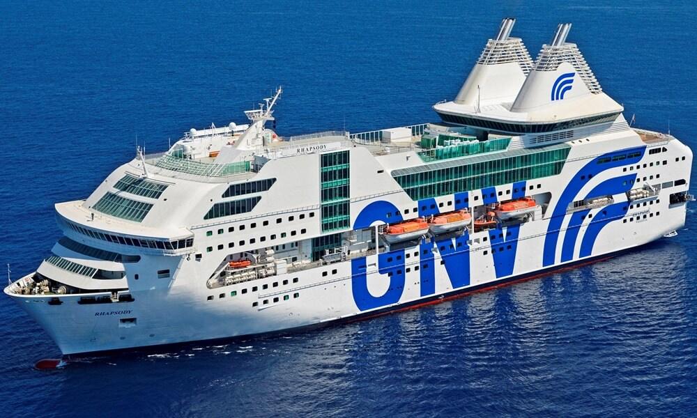 veerboot GNV reisverslag sardinië juni