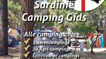 Campinggids met alle campings Sardinië