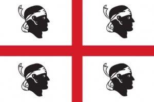 4mori vlag van Sardinië