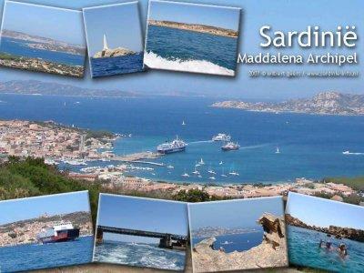 Palau en de Maddelena Archipel Sardinië
