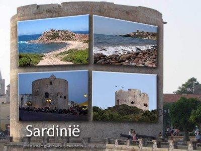 Torens in en rond Alghero